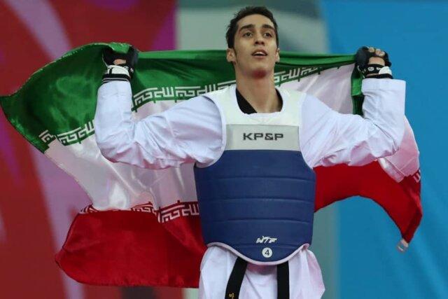 مهدی خدابخشی تکواندو کار ایرانی