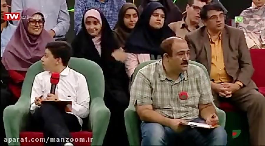 سوتی مهران غفوریان و رامبد جوان درباره بوسنی در مسابقه اسم فامیل خندوانه