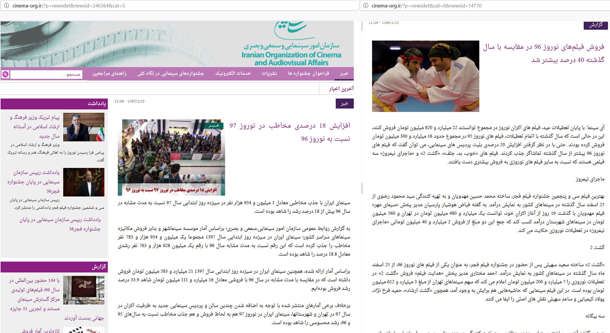 گیشه سینمای ایران