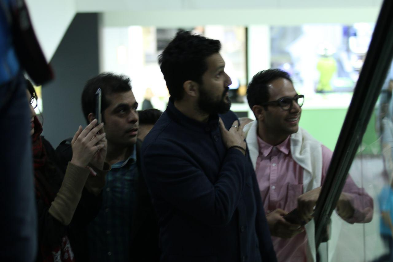 حامد بهداد و تینا پاکروان در اکران عمومی «نیمه شب اتفاق افتاد»