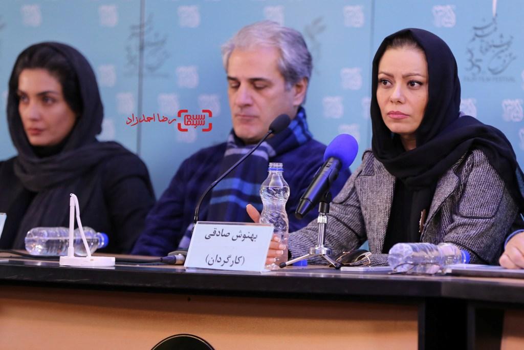تصاویری از نشست خبری فیلم سینمایی «خانه دیگری» در جشنواره فجر