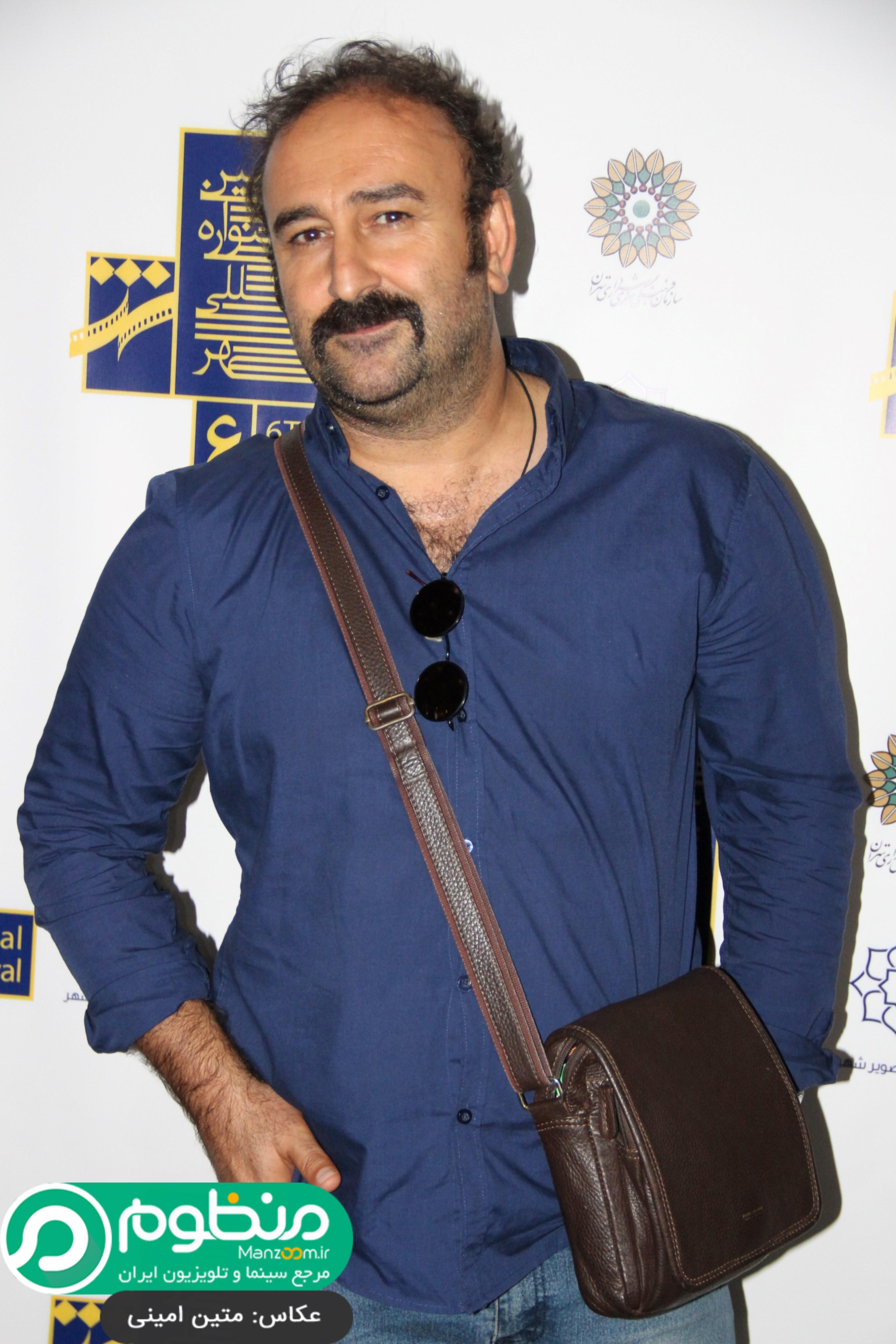 مهران احمدی در افتتاحیه فیلم 21 روز بعد