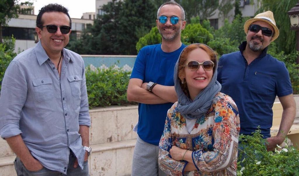 مهناز افشار، رضا عطاران، علی قربانزاده و سامان مقدم در صحنهای از فیلم «نهنگ عنبر 2: سلکشن رویا»