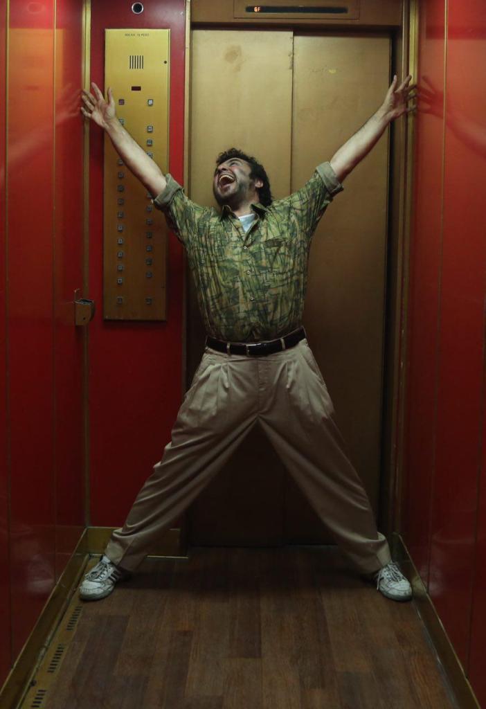 رضا عطاران در صحنهای از فیلم «نهنگ عنبر 2: سلکشن رویا»