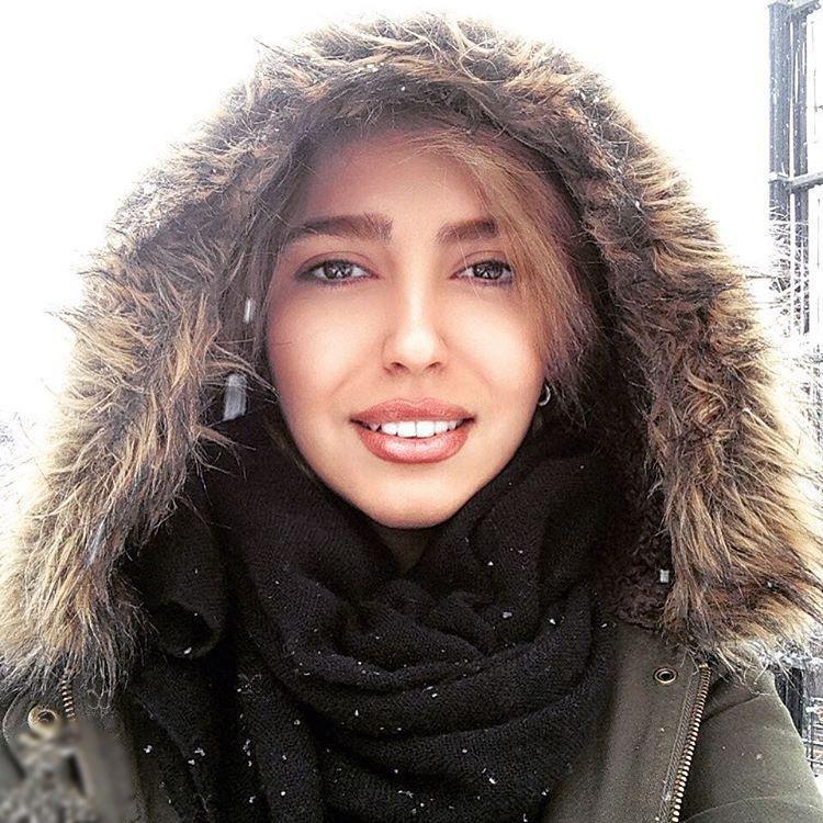 برف تهران و  تصاویر زمستانی بازیگران