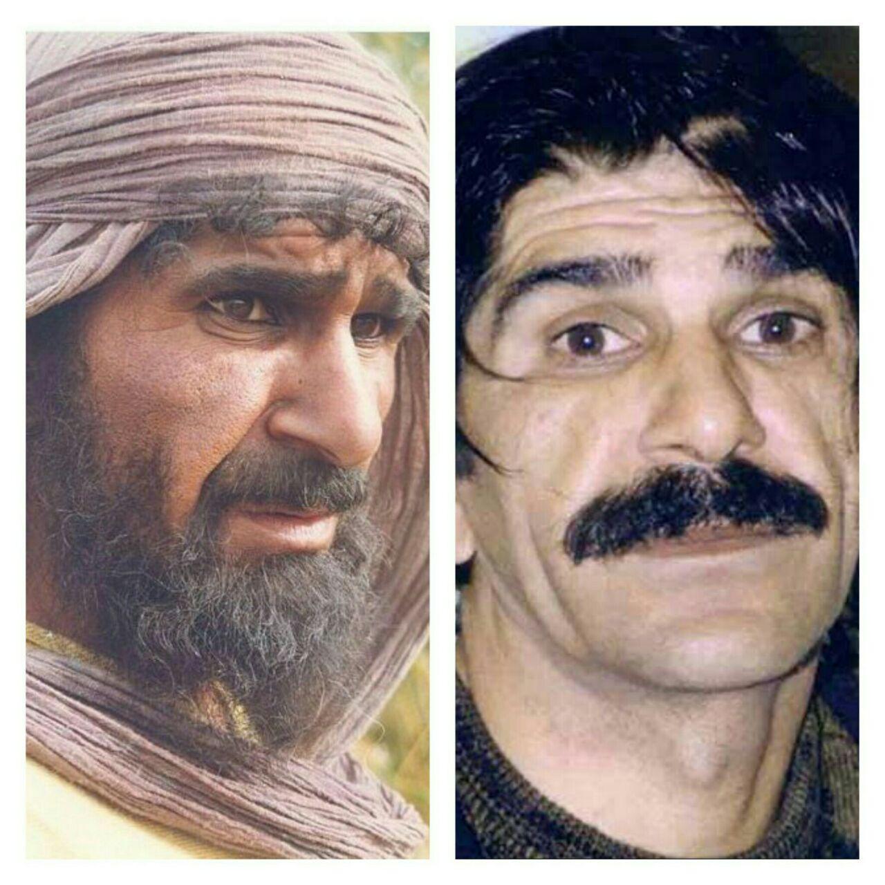 گریم حسین پناهی در سریال امام علی (ع)