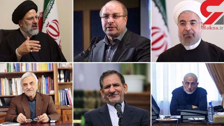 نامزدهای ریاست جمهوری در دوازدهمین دوره