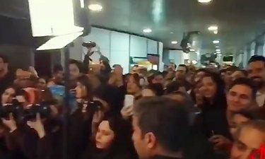 ویدئویی ازشب پرُستاره اکران«اسرافیل»و استقبال مردم