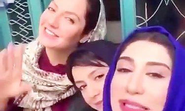 لایو سرکار خانم ادبی به همراه بازیگران سریال «گلشیفته»