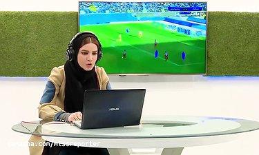 وقتی متین ستوده گزارشگر فوتبال می شود!