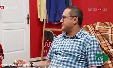 آموزش فوتبال به رامبد توسط علی انصاریان در خندوانه