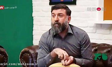 علی انصاریان در برنامه قاچ خندوانه