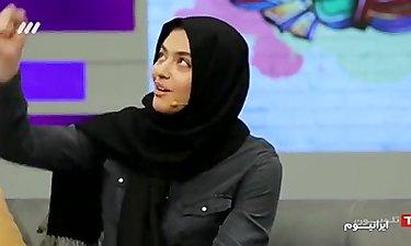 ریحانه پارسا، بازیگر سریال پدر مهمان برنامه ایرانیوم