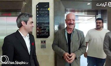 اکران خصوصی فیلم مستند فرشاد اقای گل با حضور هنرمندان
