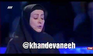 گریه شرکت کننده مسابقه تلویزیونی محمدرضا گلزاربرنده باش