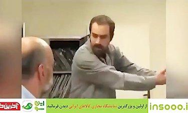 """پشت صحنه سکانس دیدنی خودزنی """"شهاب حسینی"""" در جدایی نادر از سیمین"""