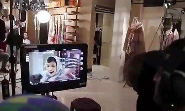 اولین ویدیو از پشت صحنه مجموعه نمایش خانگی «رقص روی شیشه»