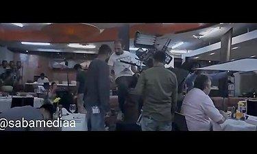 ویدئویی از پشت صحنه فیلم سینمایی دختر شیطان به کارگردان قربان محمدپور