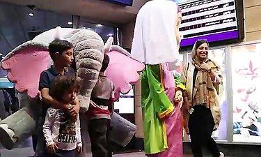 پشت صحنه ای از ساخت فیلشاه