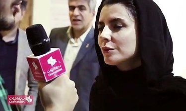 مصاحبه با لیلا حاتمی بازیگر فیلم مردی بدون سایه