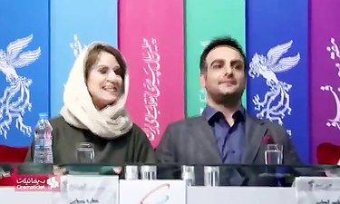 مراسم نشست رسانه ایی فیلم جمشیدیه به کارگردانی یلدا جبلی