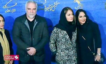 مهناز افشار،حسن پورشیرازی،محسن تنابنده درنشست خبری قسم