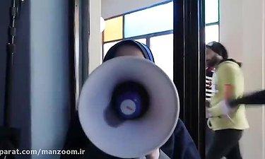 """ویدئویی ببینید از پشتصحنه سریال جدید برادران محمودی به نام """"دلدار"""""""