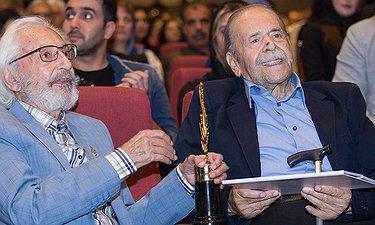 اهدای جایزه یک عمر دستاورد هنری به محمدعلی کشاورز