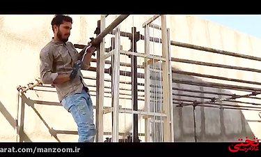 ویدئویی جالب از بازسازی دهه ۳۰ در غلامرضا تختی به کارگردانی بهرام توکلی