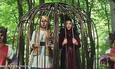 پژمان بازغی و لیلا اوتادی در «پیشونی سفید ۳»