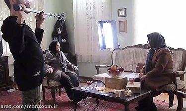 روایتی تصویری از پشت صحنه سریال نوروزی بر سر دو راهی شبکه دو