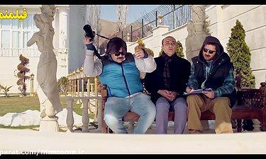 خبرنگار شدن علی صادقی - سکانس خنده دار فیلم خالتور
