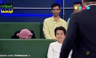 جناب خان هم کم آورد و نتونست جلوی خودشو بگیره