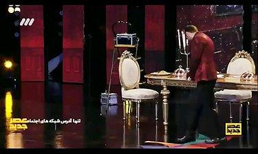 سعید فتحی روشن چهارمین اجرای فینال عصر جدید