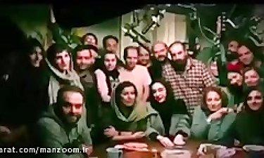 پشت صحنه فیلم «گرگ بازی» با بازی علی مصفا،نگار جواهریان