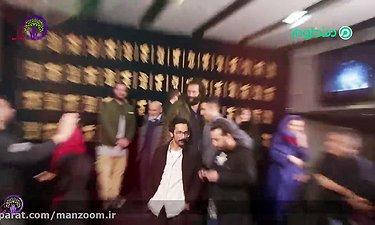 سحر دولتشاهی و میلاد کی مرام در فتوکال و نشست خبری فیلم «امیر»/ اختصاصی منظوم