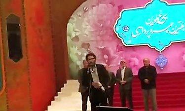 صحبت های سعید ملکان بعد از دریافت جایزه بهترین چهره پردازی