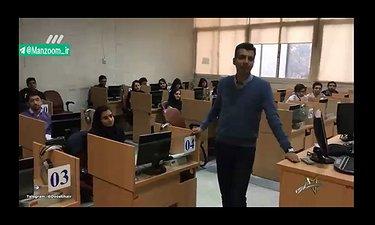 سلفی عادل فردوسی پور از دانشگاه صنعتی شریف در«سه ستاره»